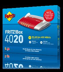 Fritzbox 4020 Update